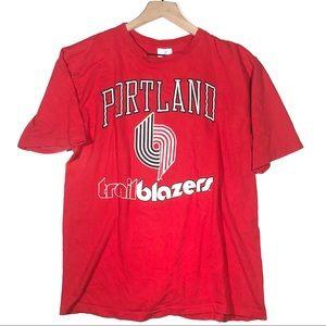 Vintage Portland Trailblazers T shirt made in USA